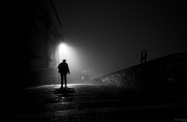 ..Walk in the fog..