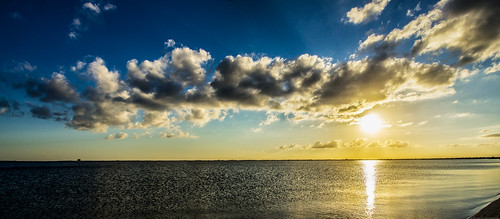 blue sunset sky orange beach nature clouds landscape sony sigma cocoa cocoabeach