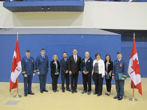 Presenting Volunteerism Certificates to 742 National Capital Air Cadet Squadron | by davidmcguinty