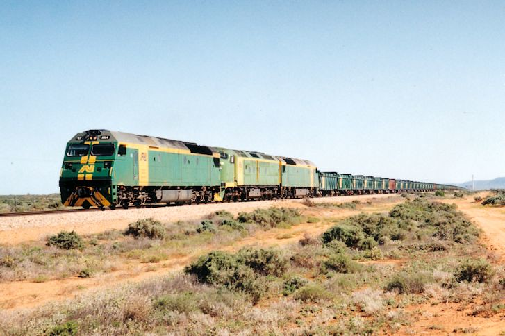 AN4 CLF5 AN8 2129 Empty Leigh Creek Coal Stirling North 10 10 1993 by Daven Walters