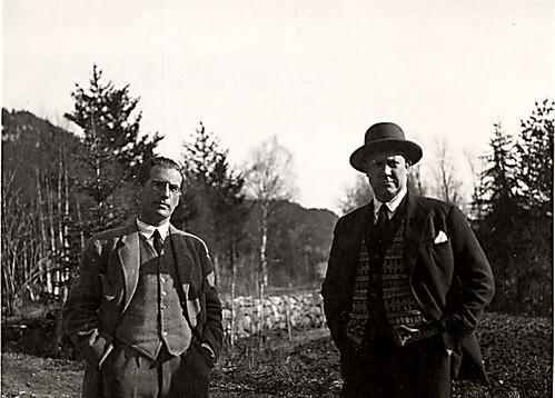 Elias Fegersten og Vidkun Quisling.