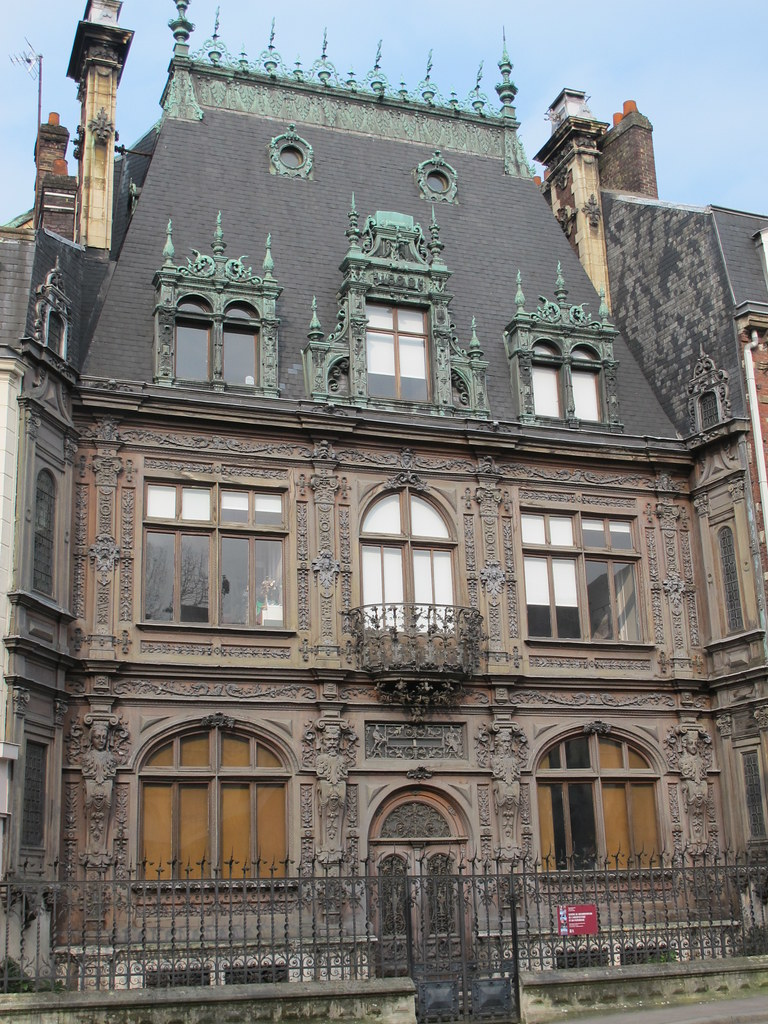 29 Rue De La Ferronnerie demeure du maître ferronnier ferdinand marrou (1890) - 29