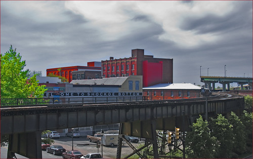'Welcome to Shockoe Bottom' -- View from the Main Street Station Richmond (VA) April 2013 | by Ron Cogswell