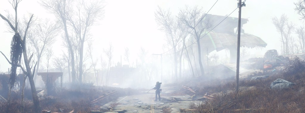 There Are Monsters In The Fog Fallout 4 Reshade Free Ca Flickr