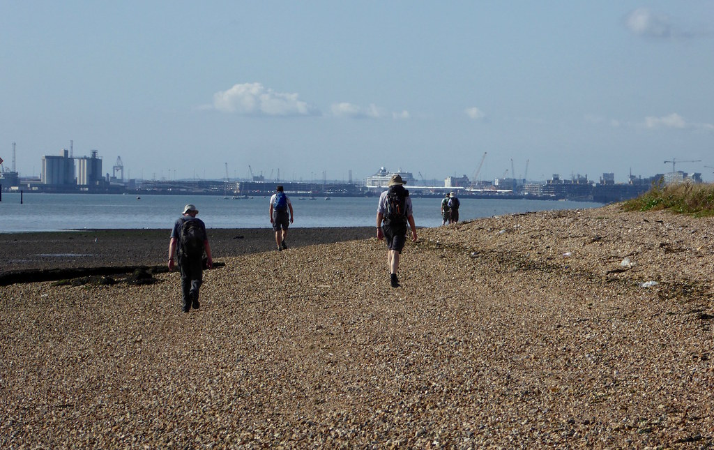 By Southampton Water Botley to Netley walk