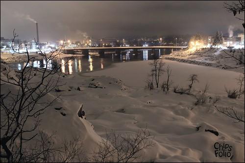 night greatfalls maine auburn timeexposure blizzard lewiston androscoggin eos600d canoneos600d rebelt3i canonrebelt3i chipsfolio