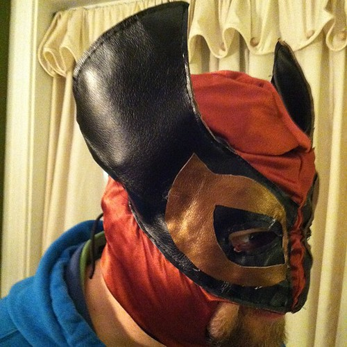 Luchador Project, Prototype No. 6, Completed | by Jared Axelrod