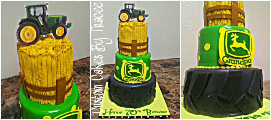 Phenomenal John Deere 70Th Birthday Cake Original Design Was Sent To Flickr Funny Birthday Cards Online Elaedamsfinfo