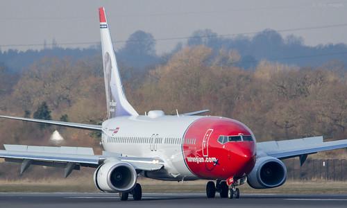 Norwegian B737-8JP  LN-NGJ (First Visit) | by Transport Pixels