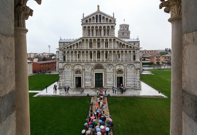 The Well-Organised Tourists Arriving in Pisa...