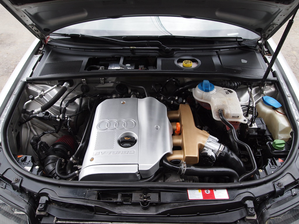 Audi A4 B6 18t Audi A4 B6 18t Clean Engine Sedriko Flickr