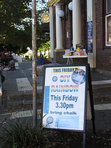 Rainbow Crossing, I   by Newtown grafitti