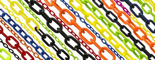 Vásároljon tőlünk minőségi műanyag láncot, melyet akár dekorációs célra is fel tud használni!