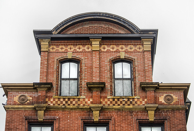 Detail--Hammond Heirs Building