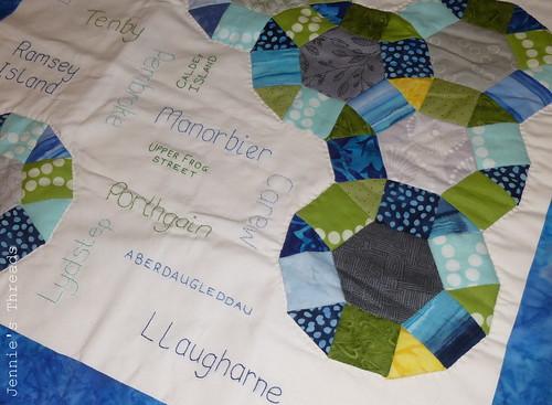 Pembrokeshire Quilt [close up]