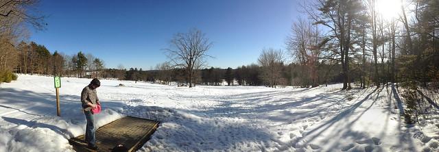 Winter Disc Golf