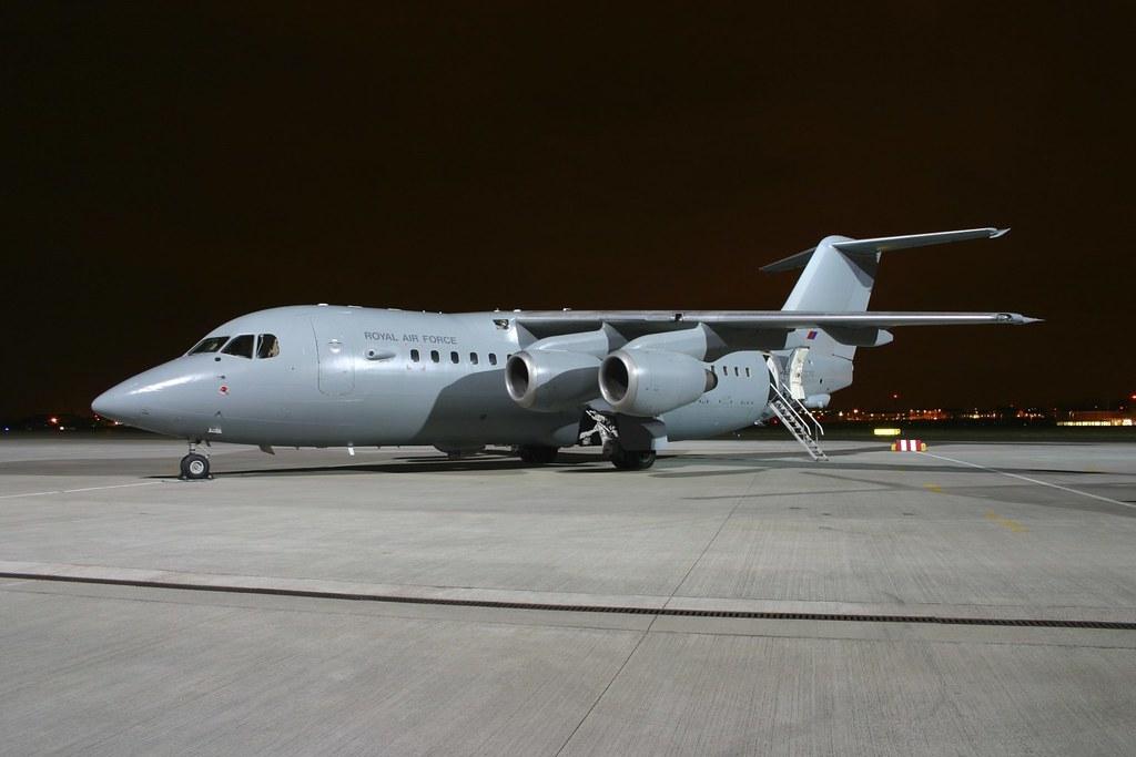 ZE707 Bae146 C3 RAF 32 Sqn RAF Northolt 14.3.13