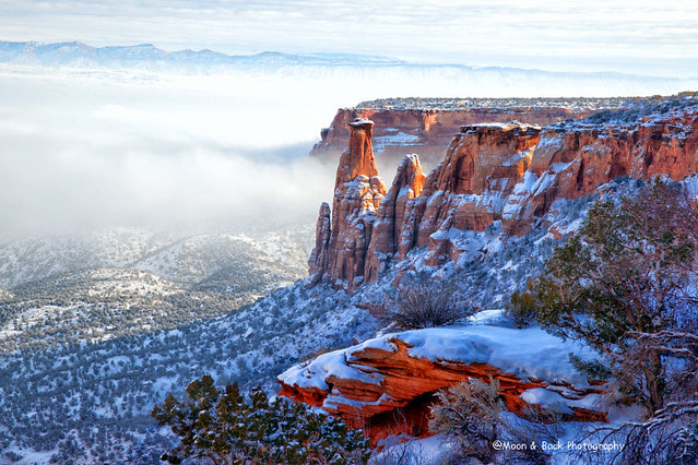COLORADO NATIONAL MONUMENT ... Foggy Day In Paradise