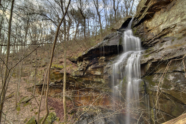 Unnamed waterfall 1, White Co, TN