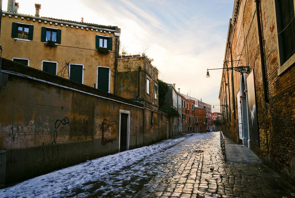 Venice - A street in Castello