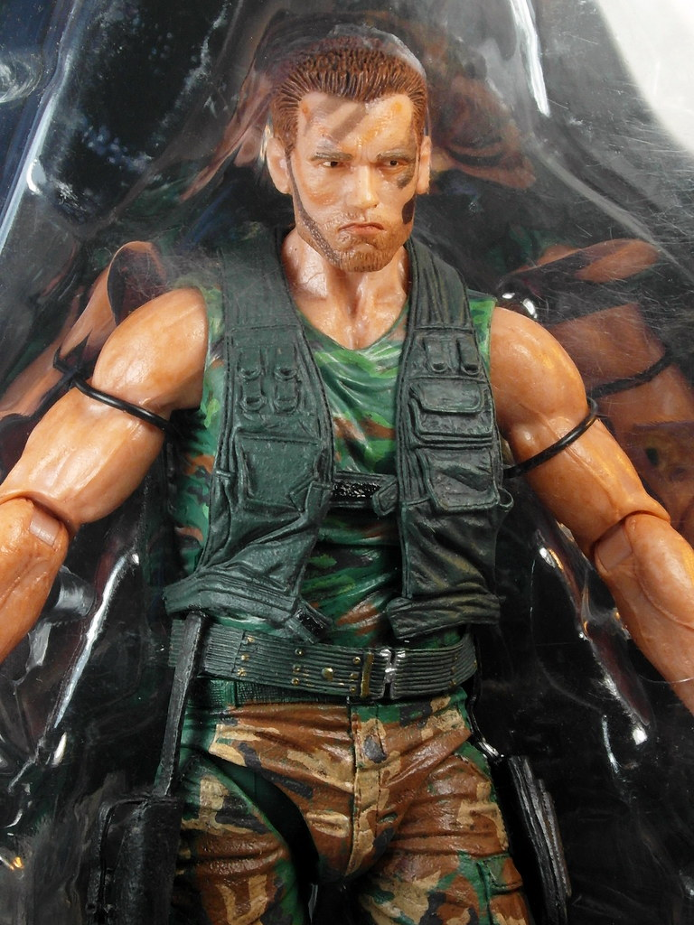 "NECA Predator Jungle Patrol Dutch 7/"" Action Figure 25th Anniversary Series 8 New"