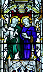 Isaiah and St Stephen