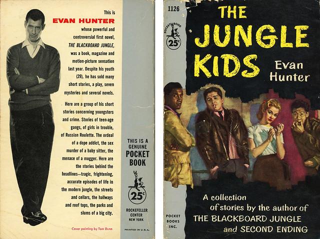 Pocket Books 1126 - Evan Hunter - The Jungle Kids (with back)
