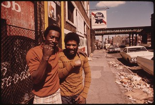 Chicago Ghetto On The South Side. Although The Percentage Of Chicago Blacks Making $7,000 Or More Jumped From 26 To 58% Between 1960 And 1970, 05/1974