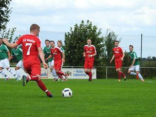 1. Heimspiel Saison 2016/2017 am 21.08.16 SVR : TSV Ammertsweiler 4:0