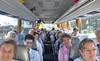 Unterwegs mit den Stefan-Mayer-Bussen am 31. August von Karlsruhe in Richtung Budapest. Der Weg führte über München, Salzburg und Wien.