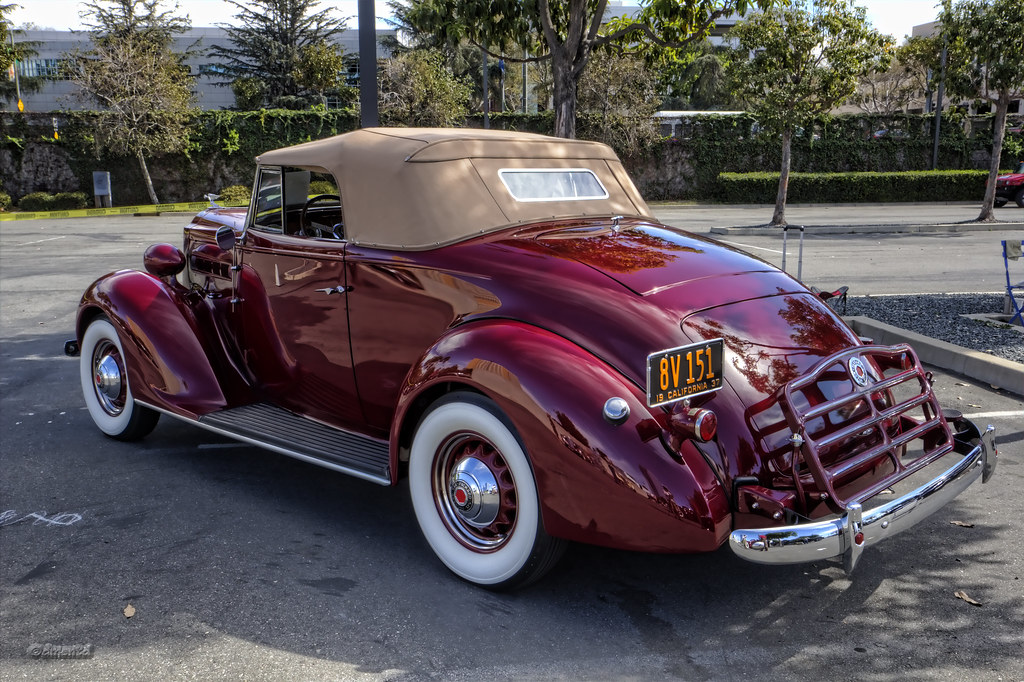 1937 Packard 115C Convertible Coupe | Steve Sexton | Flickr