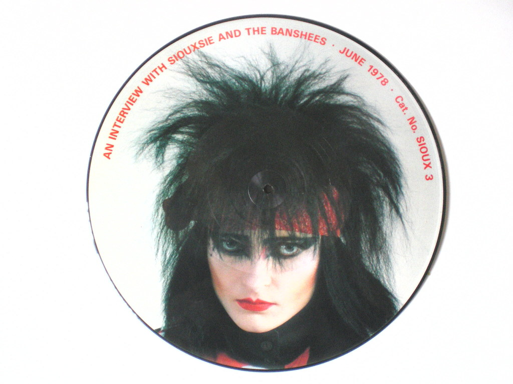 Siouxsie The Banshees Interview Disc Pic Disc Interview Flickr