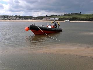 Harlyn Dive Schools boat Pressure Seeker
