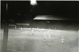 1960 v Hibs - 1st game under spotlight | by Swans100: 100 Years of Swansea City FC