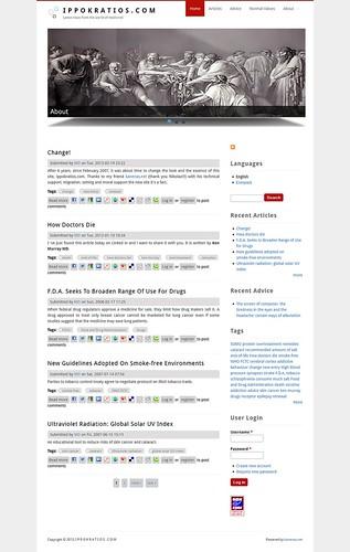 I P P O K R A T I O S . C O M   Latest news from the world of medicine!   by kanenas.net