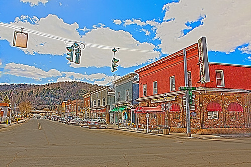 city newyork landscape town unitedstates country scenic flyfishing roscoe hdr sullivancounty scenicview trouttown