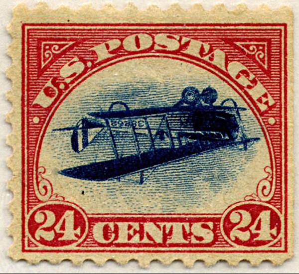 jenny invert stamp