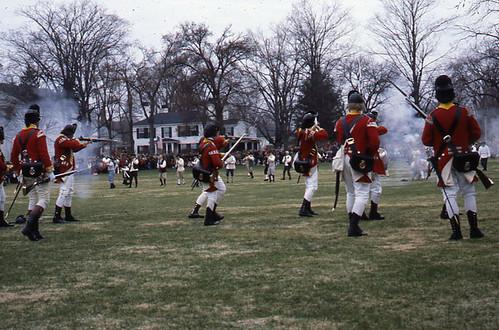Battle of Lexington: Patriots Day Reenactment (Lexington, MA) | by Boston City Archives