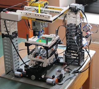 Lego Mill NXT_01 | by Jan Holthusen