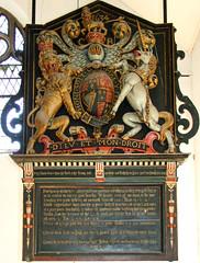 C R 1634 royal arms
