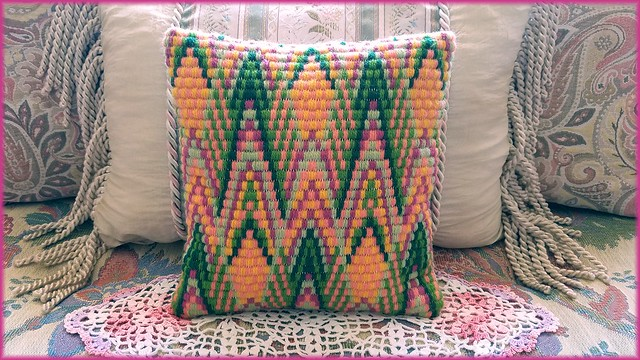 Just a little Figment of my Bargello Imaginations!