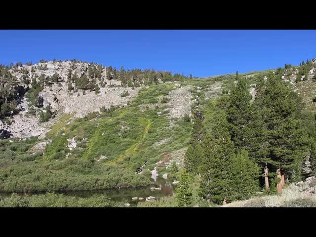 2444 Panorama video of Little Pothole Lake