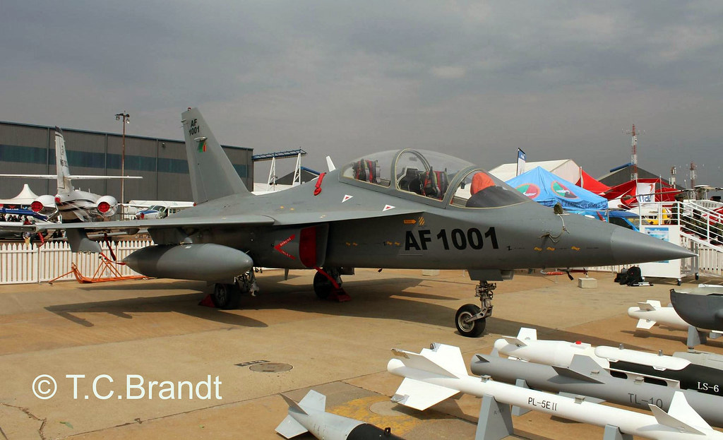 Zambia Air Force Hongdu L-15 AF-1001 | Check out Tims photos ...