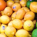 Citrus fruits imported from America