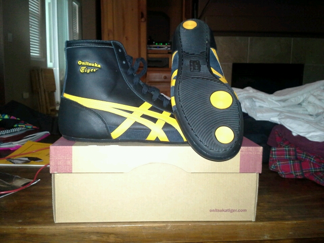 timeless design 1f3ee 4744d asics onitsuka tiger wrestling shoes | Brand new never worn ...