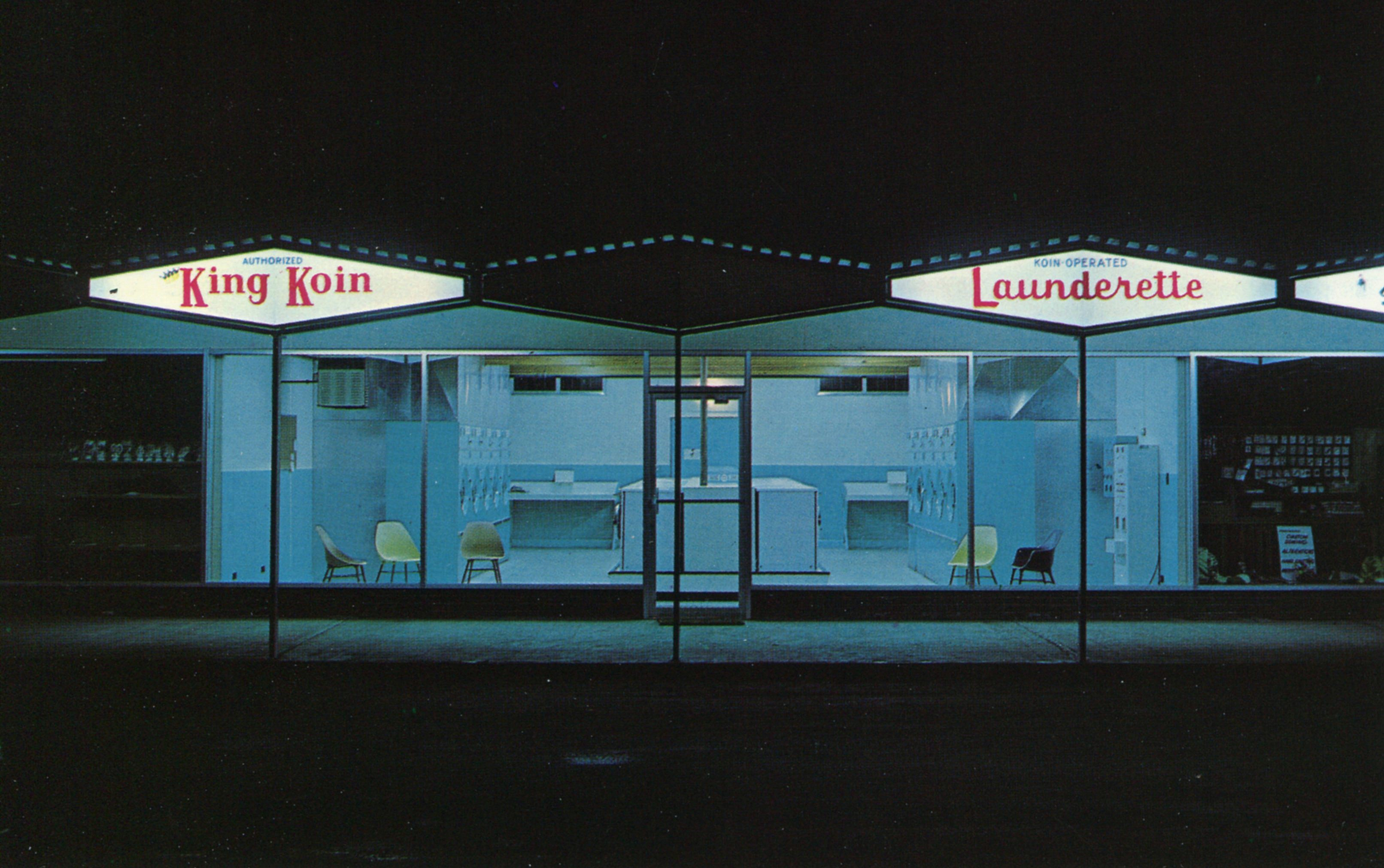 King Koin Launderette - Kelowna, British Columbia, Canada - date unknown