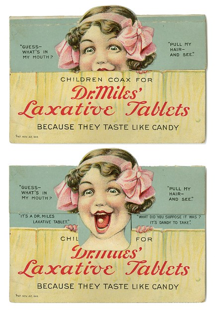 Dr. Miles' laxative tablets