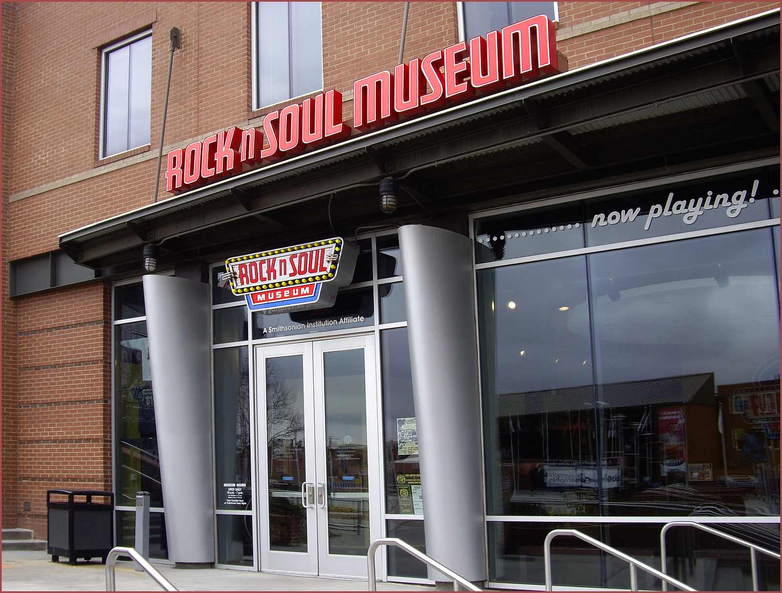 Entrance to the Rock-n-Soul Museum Memphis (TN) 2013