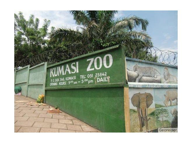 Ghana - Kumasi Zoo - Kumasi
