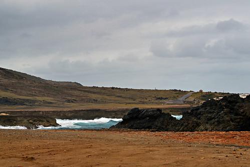 mar paisagem aruba arikok arikoknationalpark